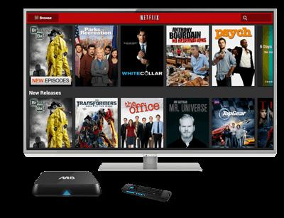 Une box parfaite pour une TV HD M8 Droid-TV.fr